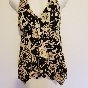 NWT Swimsuits for All Halter Tankini Top